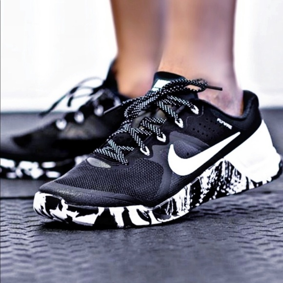 Nike Metcon 2 Black And White Marble